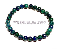 Load image into Gallery viewer, Chrysocolla Stretch Bracelet