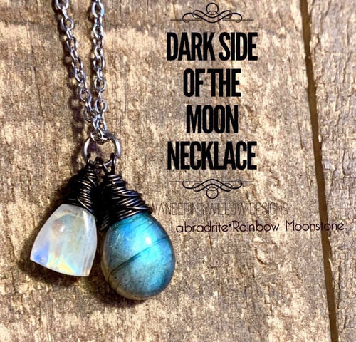 Dark Side of the Moon Necklace