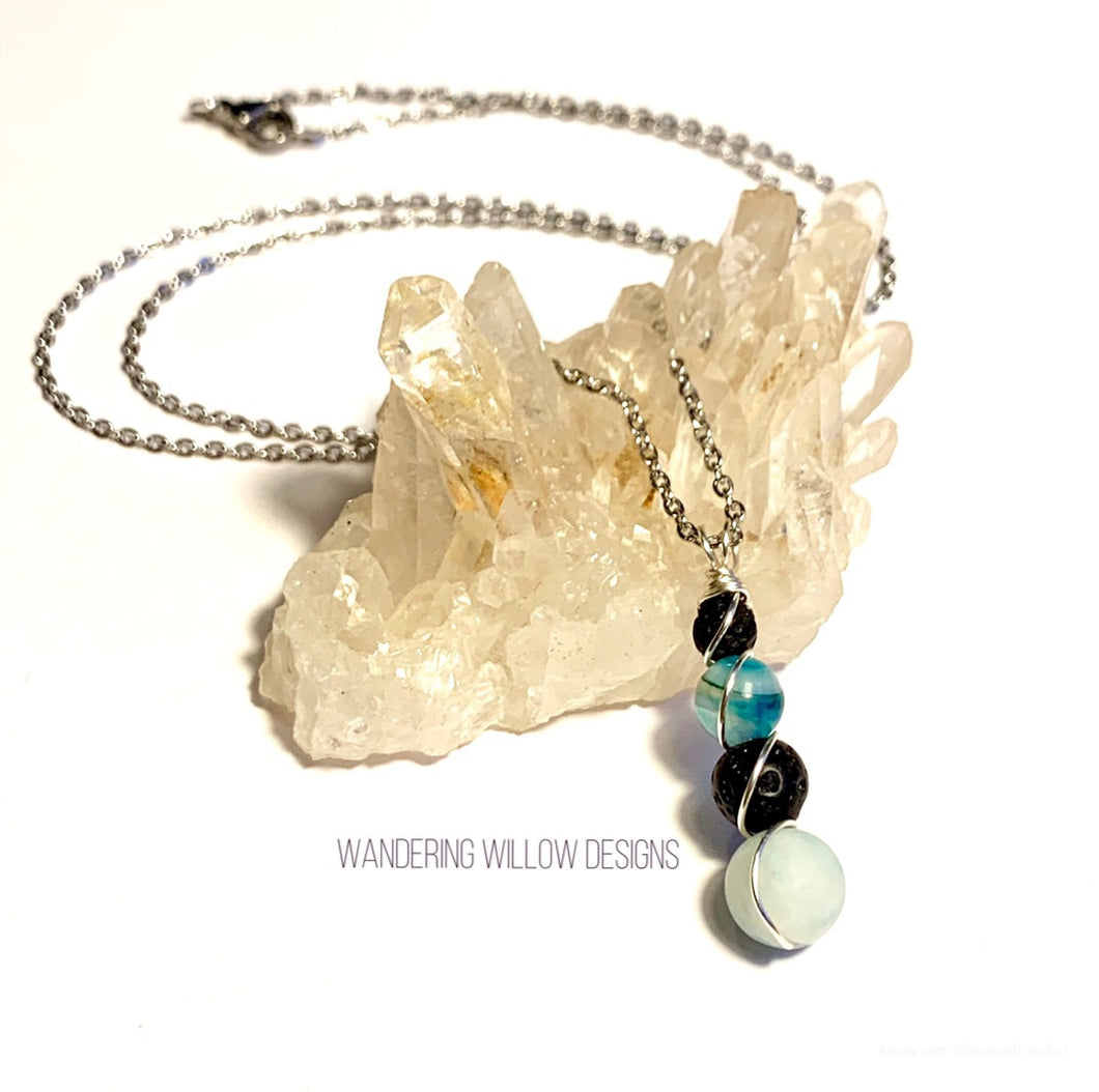 Protection & Emotions Diffusing Necklace