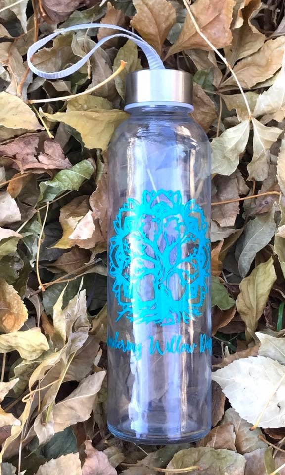 Glass 18oz WWD Water Bottle