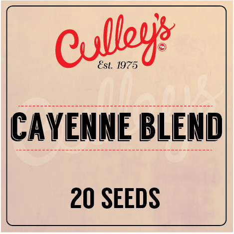 Culley's Cayenne Blend Seeds