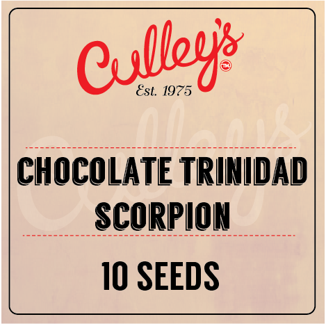 Culley's Chocolate Trinidad Scorpion Seeds