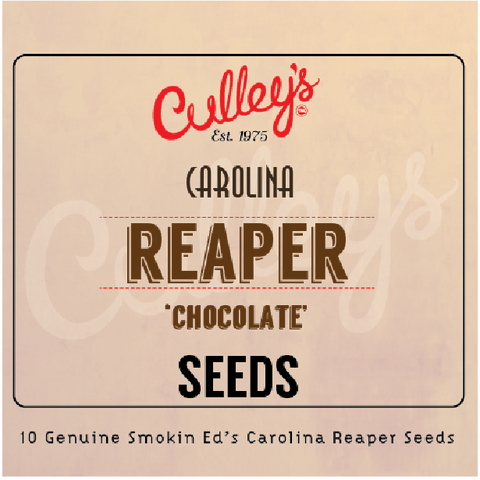 Culley's Chocolate Carolina Reaper Seeds