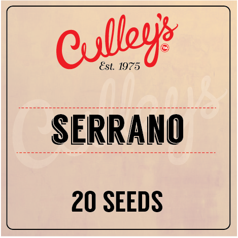 Culley's Serrano Seeds