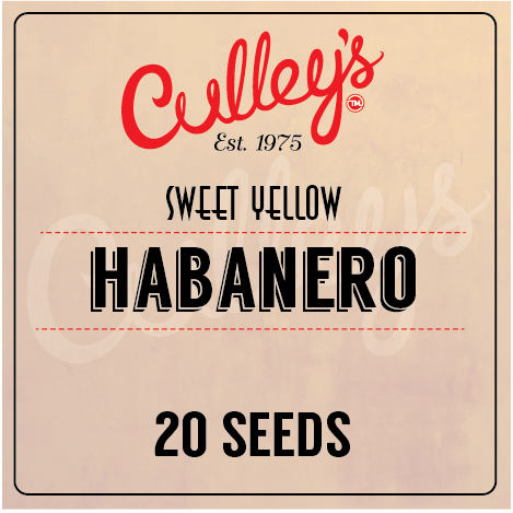 Culley's Habanero Seeds