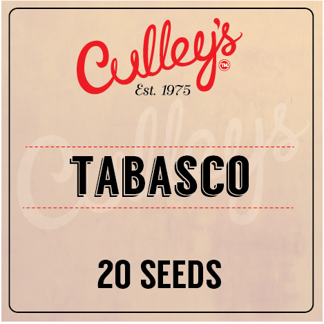 Culley's Tabasco Seeds