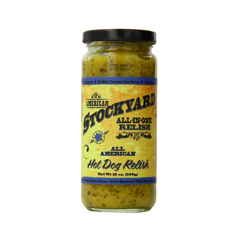 American Stockyard All-In-One All American Hot Dog Relish