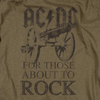 AC/DC For Those About To Rock Shirts