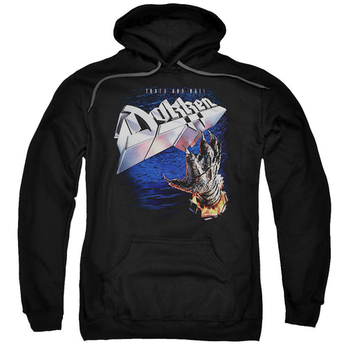 Dokken Tooth And Nail Claw Pullover Hoodie Band Sweatshirt