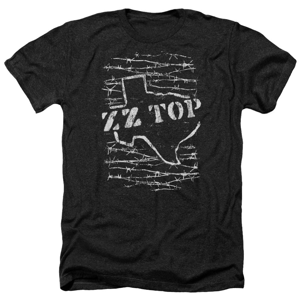 Zz Top Barbed Heather Band T-Shirt