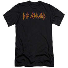 Load image into Gallery viewer, Def Leppard Horizontal Logo Premium Canvas Jersey    Band T-Shirt