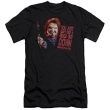 Load image into Gallery viewer, Childs Play 3 Good Guy Premium Canvas Jersey Movie T-Shirt