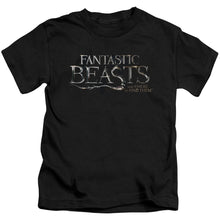 Load image into Gallery viewer, Fantastic Beasts Logo Kids' Movie T-Shirt