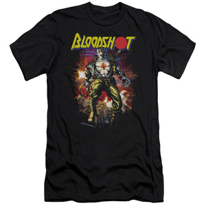 Bloodshot Vintage Bloodshot Premium Canvas Jersey Movie T-Shirt