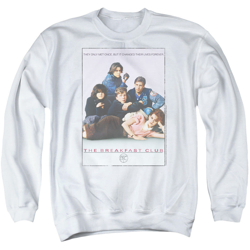 Breakfast Club Bc Poster Crewneck Movie Sweatshirt