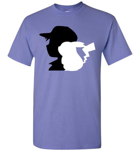 Best Friends Video Game T-Shirt Violet