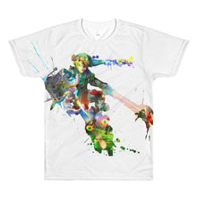 Load image into Gallery viewer, Watercolor Hero Video Game T-Shirt