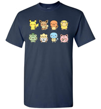 Load image into Gallery viewer, Cute Friends Pokemon Video Game T-Shirt