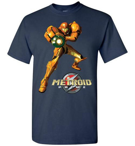 Mech Girl Pose Video Game T-Shirt