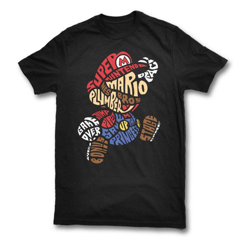 Red Plumber Video Game T-Shirt