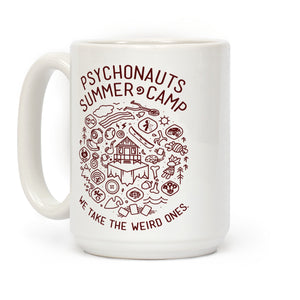 Summer Camp Video Game Mug