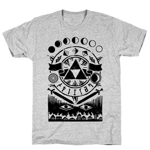 Trinity Occult Video Game T-Shirt