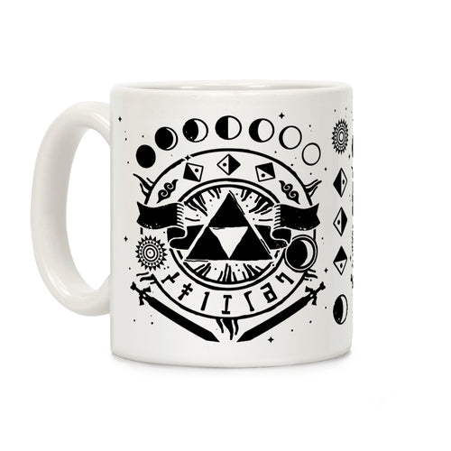 Occult Symbols Video Game Mug