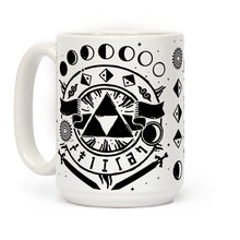 Load image into Gallery viewer, Occult Symbols Zelda Video Game Mug