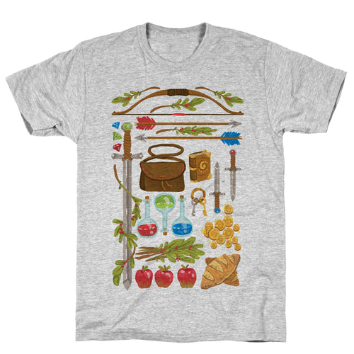 RPG Items Video Game T-Shirt