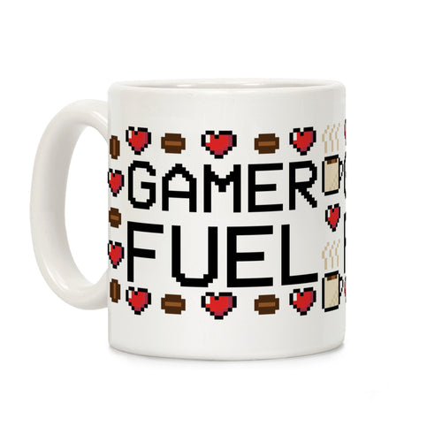Gamer Fuel Video Game Mug