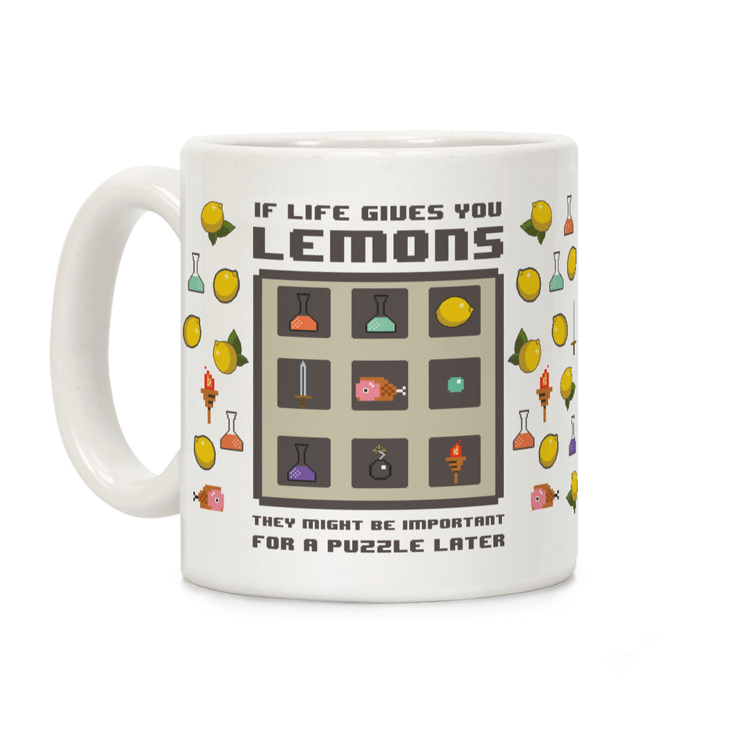 Lemons Video Game Mug