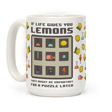 Load image into Gallery viewer, Lemons Video Game Mug