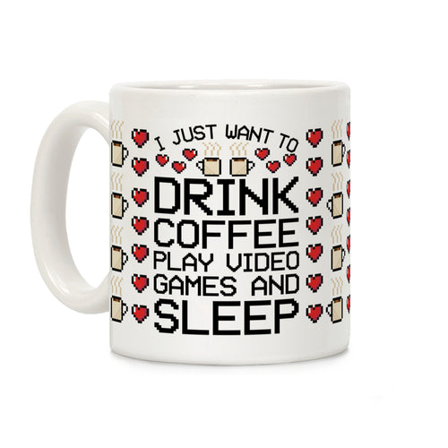 Coffee Video Game Mug