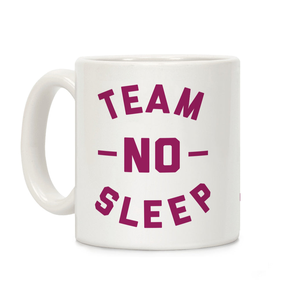 No Sleep Video Game Mug