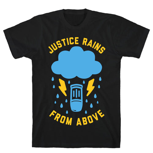 Justice Rains Video Game T-Shirt