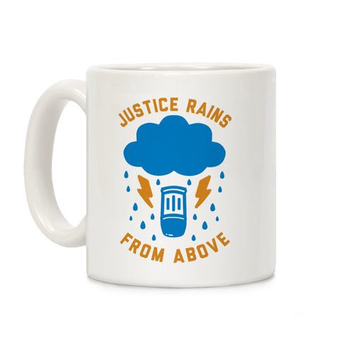 Justice Rains Video Game Mug
