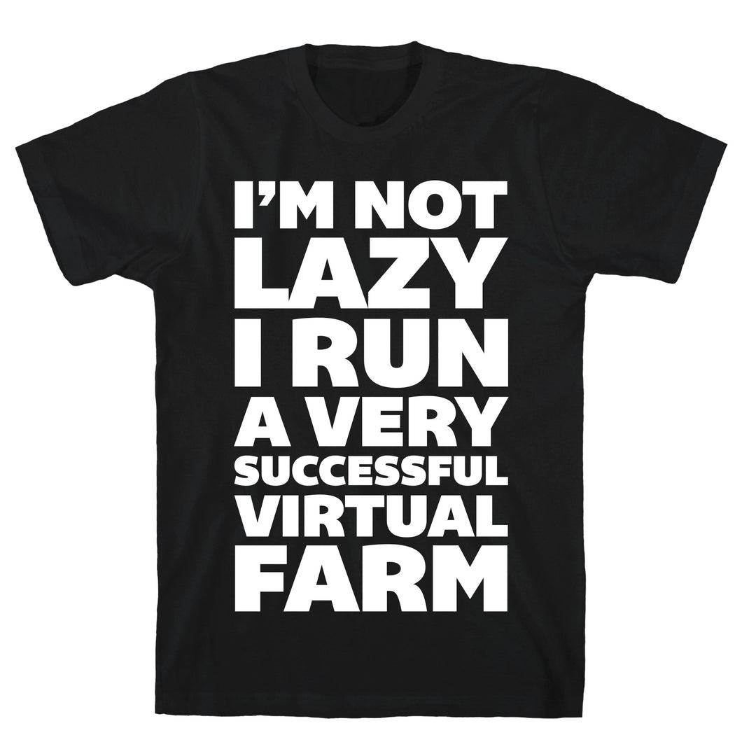 Lazy Farm Video Game T-Shirt