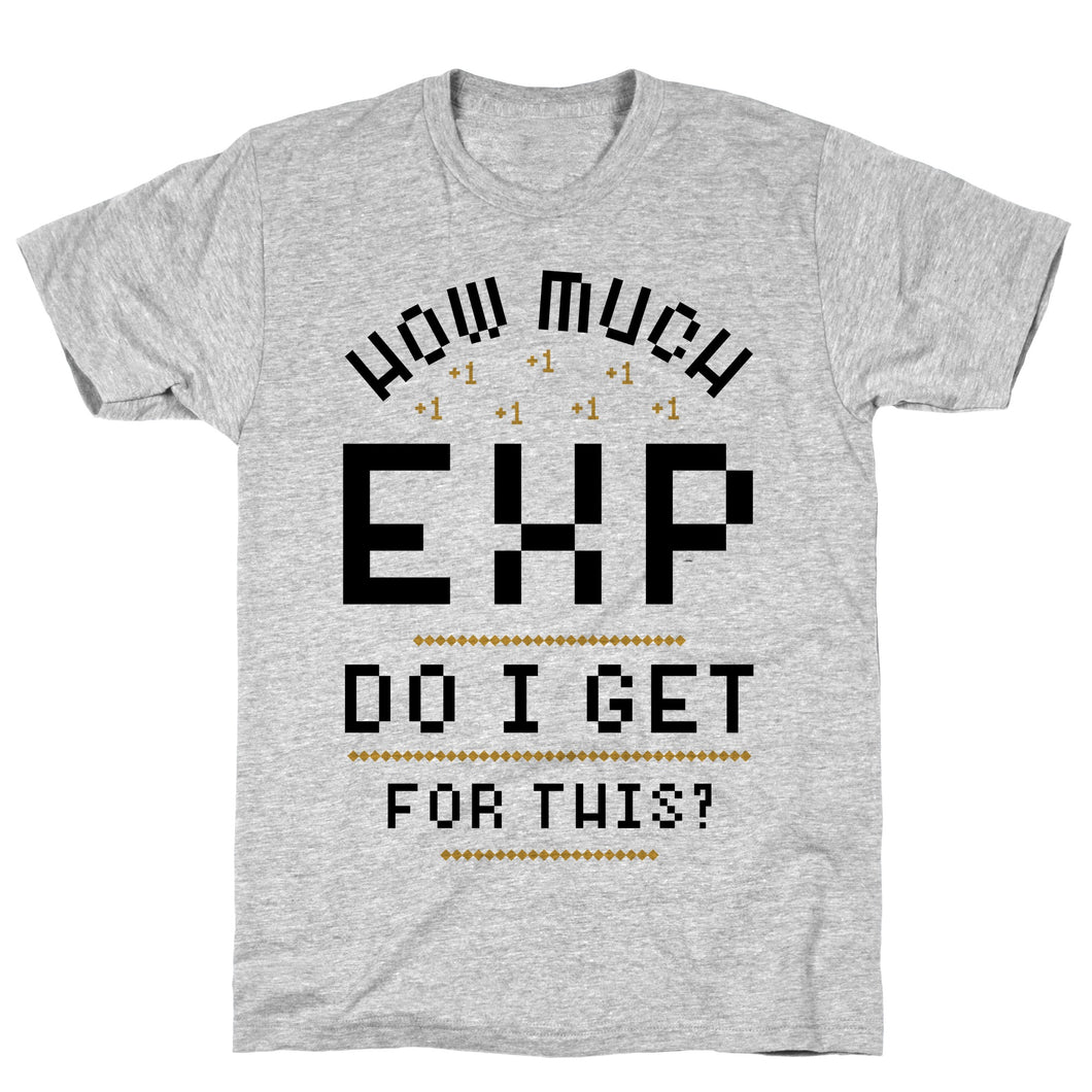 EXP Video Game T-Shirt