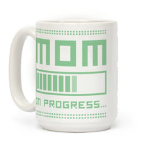 Load image into Gallery viewer, Mom in Progress Video Game Mug