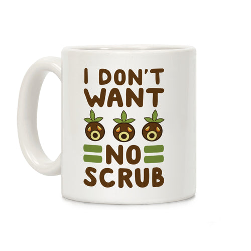 No Scrub Video Game Mug