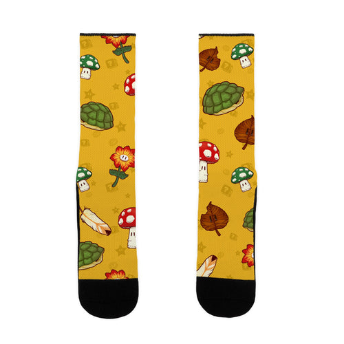 Power Up Video Game Socks