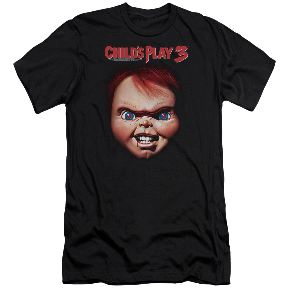 Childs Play 3 Chucky Premium Canvas Jersey Movie T-Shirt