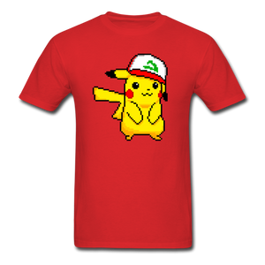 new shirt poke - red