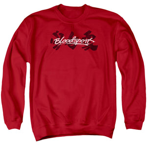 Bloodsport Kanji Crewneck Movie Sweatshirt