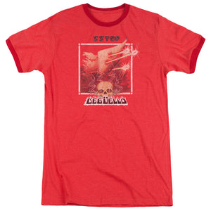 Zz Top Deguello Cover Ringer Band T-Shirt