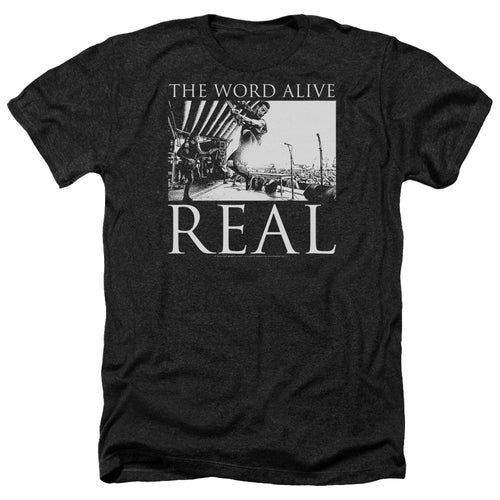 The Word Alive Live Shot Heather Band T-Shirt
