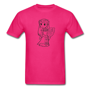 new shirt zelda - fuchsia