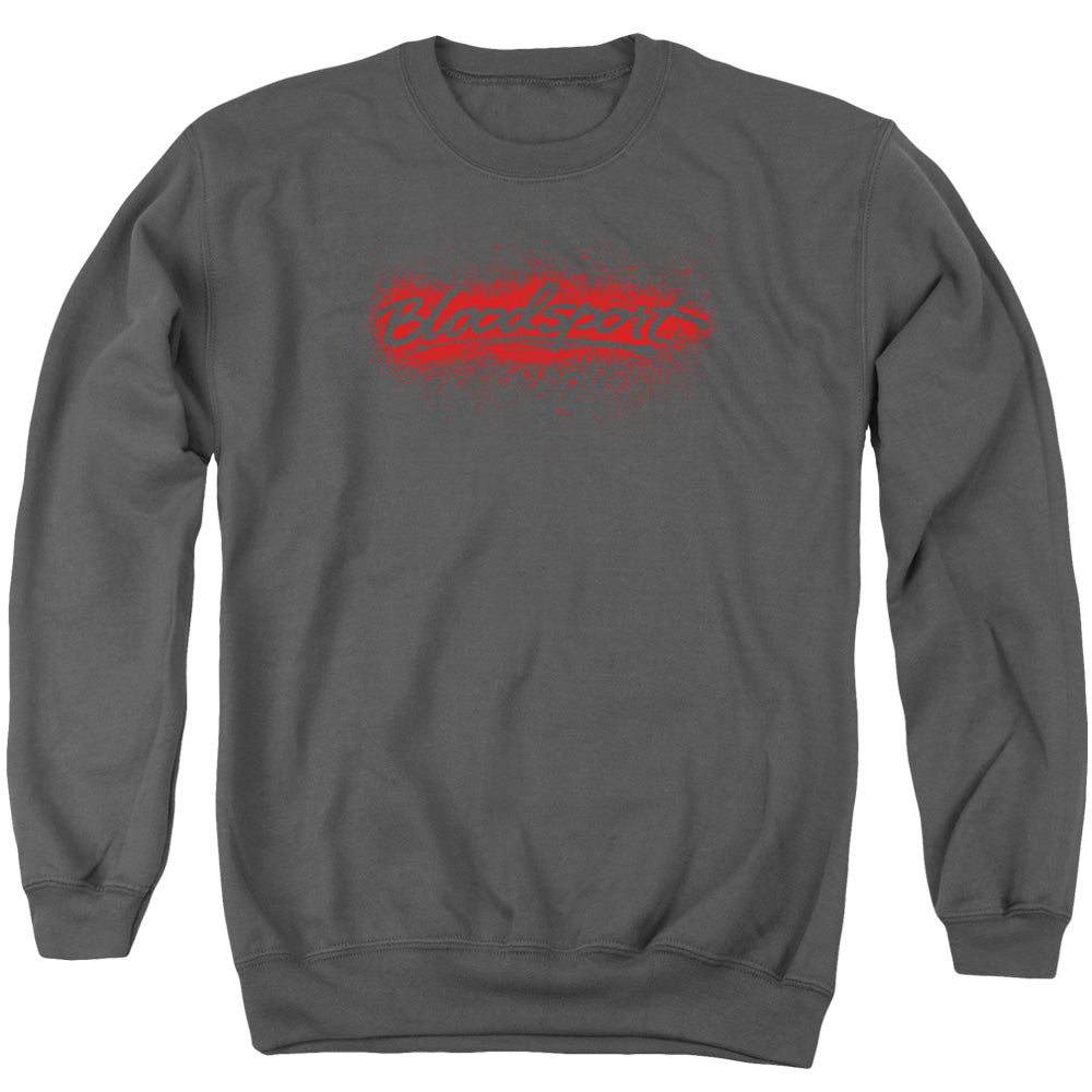 Bloodsport Blood Splatter Crewneck Movie Sweatshirt