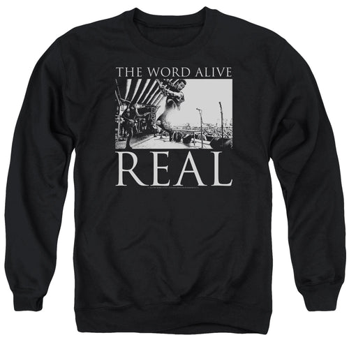 The Word Alive Live Shot Crewneck Band Sweatshirt