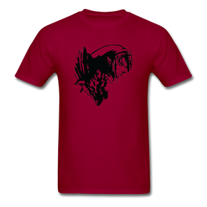 new shirt zelda 321 - dark red